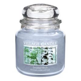Village Candle Vonná svíčka ve skle, Bříza - Smoked birch, 397 g