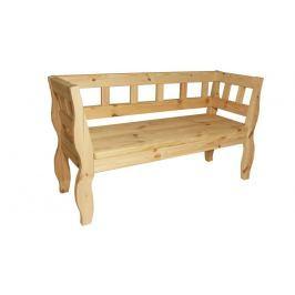 Gaboni RETRO 55581 Zahradní lavice bez povrchové úpravy - 157 cm Zahradní lavice
