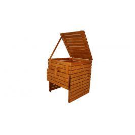 Gaboni 55478 Zahradní dřevěný kompostér - 1200l