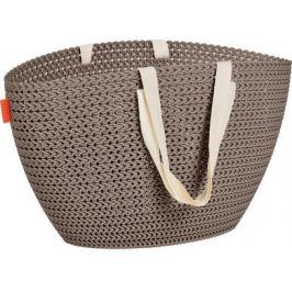 CURVER EMILY KNIT 41580 Nákupní taška - hnědá