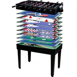Tuin 26502 Multifunkční herní stůl 15 v 1 - černý