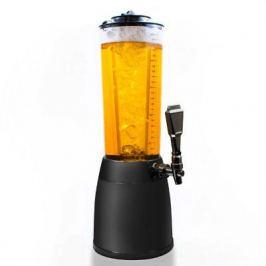 Pivní věž o objemu 4 litry, s kohoutkem - design černá