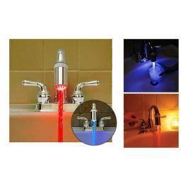 LED nástavec na vodovodní baterii
