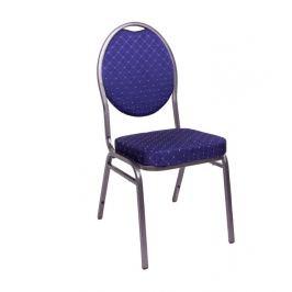 Chairy MONZA 1147 Kvalitní kovová  židle modrá