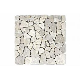 Divero Garth 27816 Mramorová mozaika - krémová obklady - 1x síťka