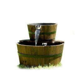 Garthen 633 Zahradní kašna - fontána se dvěma dřevěnými vědry