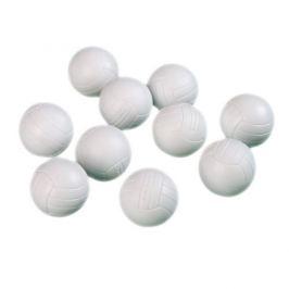 Míčky na stolní fotbálek bílé 10 ks 36 mm