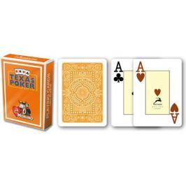 Modiano 2096 100% plastové karty 2 rohy - Oranžové
