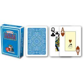 Modiano 31298 100% plastové karty 2 rohy - Světle modré