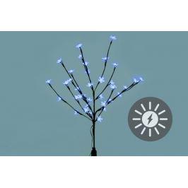 Garthen 684 Zahradní květinový strom s 36 LED diodami a solárním panelem bílé LED diody