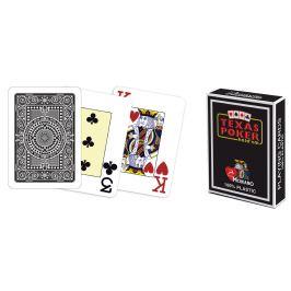 Modiano 41683 100% plastové karty 2 rohy - černé