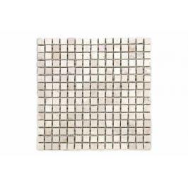 Divero Garth 91 Mramorová mozaika krémová 30 x 30 cm 1 m²