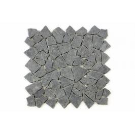 Divero Garth 638 Mozaika z andezitu - černá / tmavě šedá 1 m2