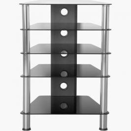 Tuin 1346 Hifi stolek 88 x 61 x 52 cm bezpečnostní sklo 61 x 88 x 52 cm