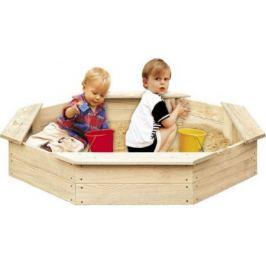 Tradgard 2750 Dřevěné pískoviště pro děti 8-hranné FSC
