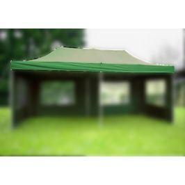 Garthen 6315 Náhradní střecha k nůžkovému stanu 3 x 6 m, zelená