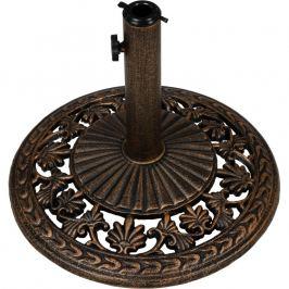 Tuin 1577 Stojan na slunečníky 10,5 kg bronz
