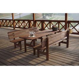 Tradgard MIRIAM 35274 Dřevěná lavice - 200CM