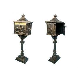 Tuin 1325 Ozdobná poštovní schránka - bronzová