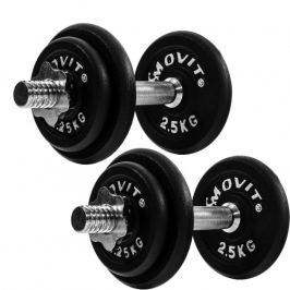 Movit litinový set 2 x 10kg
