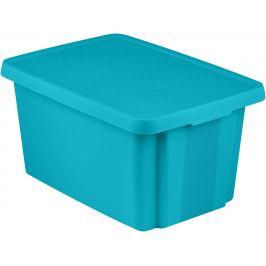 CURVER Úložný box s víkem  45L - modrý
