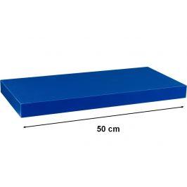 STILISTA VOLATO 31044 Nástěnná police  - modrá 50 cm