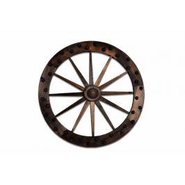 Garthen 2661 Dekorativní dřevěné kolo