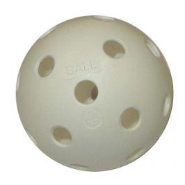 CorbySport 5102 Florbalový míček necertifikovaný bílý