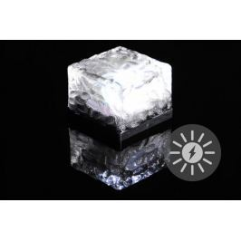 Nexos  55821 solární osvětlení - cihla LED bílá 7x7x5 cm
