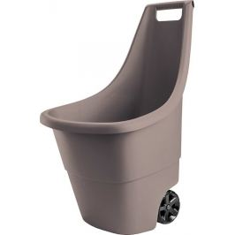 Keter EASY GO BREEZE 41314 Plastový zahradní vozík 50L - hnědý
