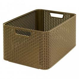 CURVER STYLE BOX 32300 Plastový úložný -L- kávový