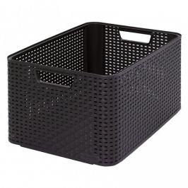 CURVER STYLE BOX 32299 Plastový úložný - L- hnědý