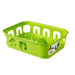 CURVER ESSENTIALS 31856 Odkapávač nádobí obdélník - zelený