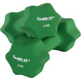 MOVIT 29322 Set 2 činek s neoprenovým potahem 4 kg
