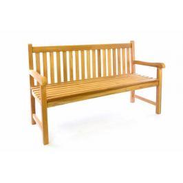 Divero 41622 Zahradní dřevěná lavice - 150 cm Zahradní lavice