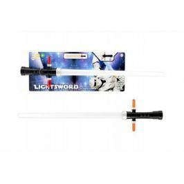 Meč svítící plast 55cm na baterie se zvukem se světlem na kartě