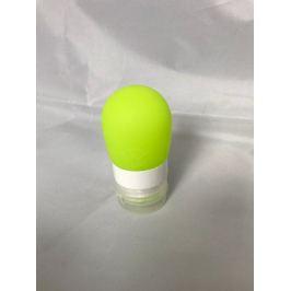 Cestovní silikonová lahvička na tekutiny - Obsah: 38 ml - zelená
