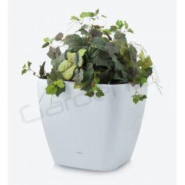 G21 Cube maxi Samozavlažovací květináč bílý 45cm