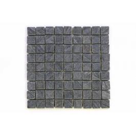 Divero Garth 9648 Mozaika z andezitu - černá obklady 1ks - 30x30 cm Obklady a dlažby