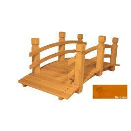 Gaboni 55345 Zahradní dřevěný most - BOROVICE - 149 cm