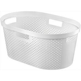 CURVER 41086 Koš na čisté prádlo - bílý 39L