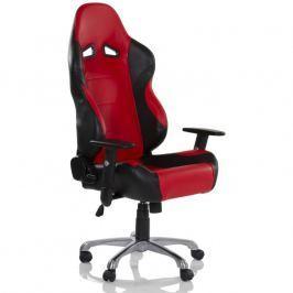 RACEMASTER® RS Series 32563 Kancelářská otočná židle, černá/červená