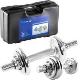 MOVIT 9508 Činkový set chrom 15 kg