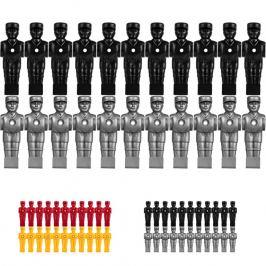 TUNIRO 55473 Náhradní figurky na fotbálek - 22 ks
