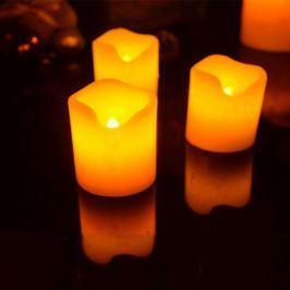 Elektrické svíčky z pravého vosku 3ks