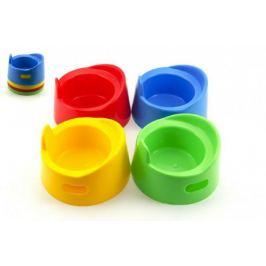 Teddies 53432 Nočník pro panenky plast průměr 13cm asst Hračky pro holky