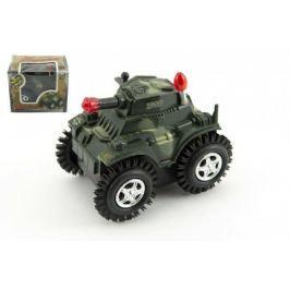 Tank převracecí plast 12cm na baterie v krabičce