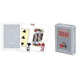 Modiano 41682 100% plastové karty 2 rohy - šedé Karty na poker