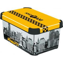 CURVER NY CITY 41110 Box úložný s víkem - S Úložné boxy