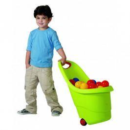 Keter KIDDIES GO 34803 vozíček na hračky - zelený